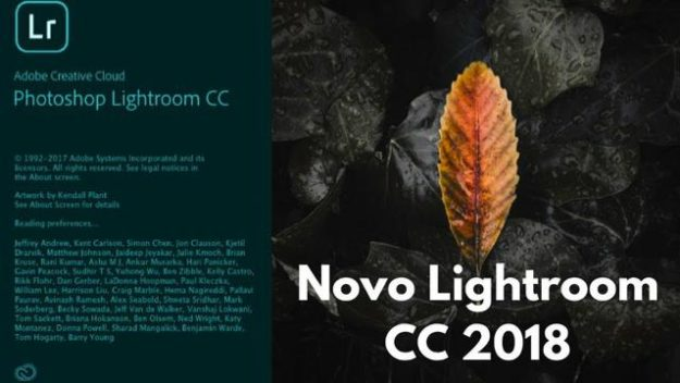 Photoshop Lightroom CC 2018