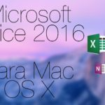 OFFICE 2016 PARA MAC V16.17 VL MULTILINGUAGEM + CRACK