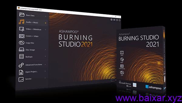 Ashampoo Burning Studio Crackeado